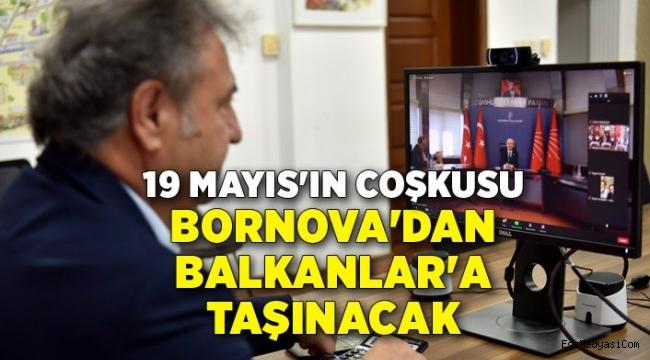19 Mayıs'ın coşkusu Bornova'dan Balkanlar'a