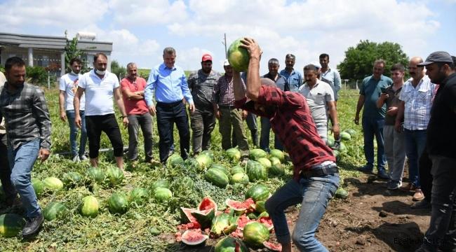 AKP'li çiftçiden iktidara veryansın