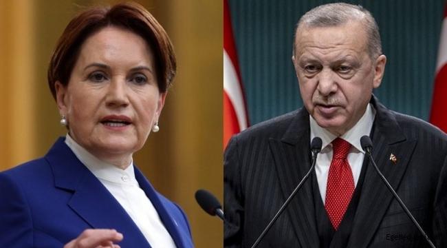 Akşener, Erdoğan'ın tehdit gibi sözlerini değerlendirdi