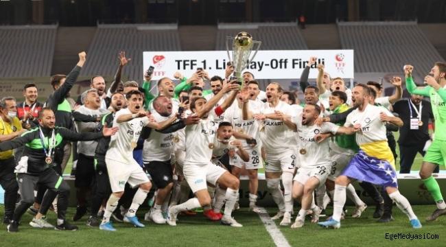 Altay Süper Lig'de!
