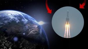 Çin roketinin düştüğü yer belli oldu!