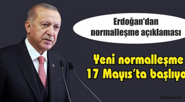 Erdoğan'dan flaş 'normalleşme' açıklaması