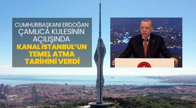 Erdoğan Kanal İstanbul'un temel atma tarihini verdi