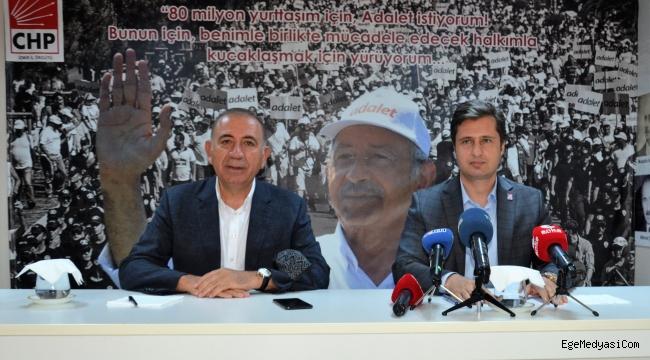 Gürsel Tekin'den İzmir'de 'Torbalı' mesajı: Sorun varsa kumpas vardır!