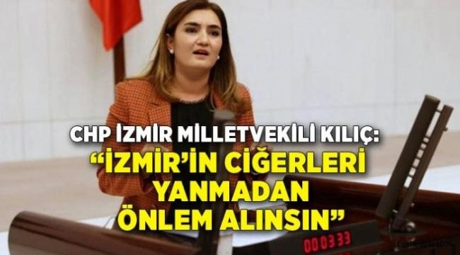 """""""İzmir'de yangın söndürme araç ve gereçleri yeterli midir?"""""""