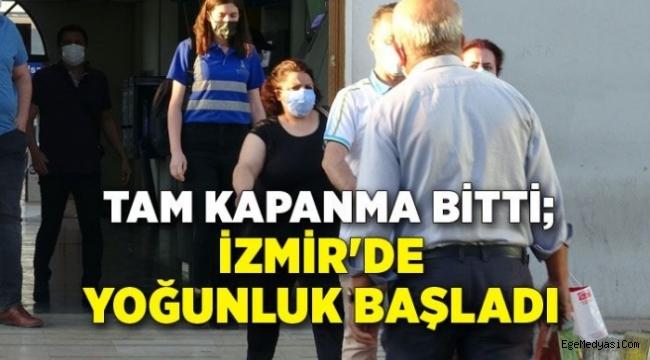 İzmir'de yoğunluk başladı