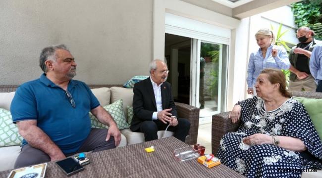 Kemal Kılıçdaroğlu'ndan Özal ailesine ziyaret