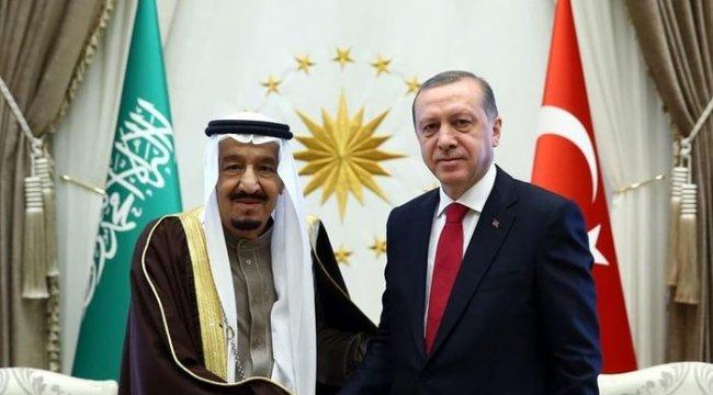Son dakika! Cumhurbaşkanı Erdoğan, Kral Selman ile görüştü