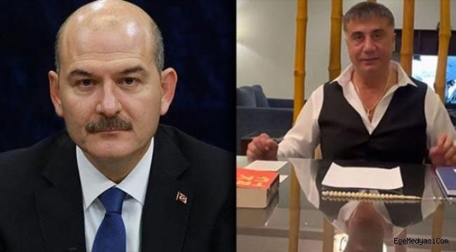 Süleyman Soylu 'Sedat Peker'in fotoğrafını gösterip sessizliğini bozdu!
