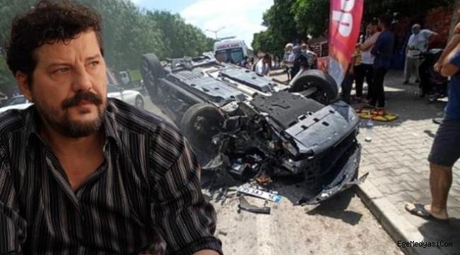 Ünlü oyuncu trafik kazası geçirdi