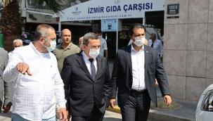 Abdül Başkan, Gıda Çarşısı esnafı ile buluştu