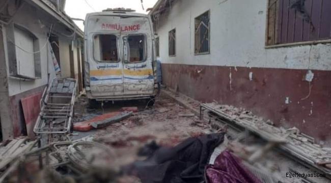 Afrin'de tedavi gören 18 sivil hayatını kaybetti