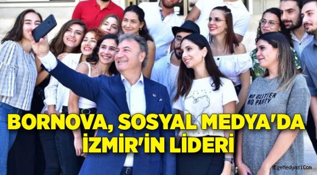 Bornova, Sosyal Medya'da İzmir lideri