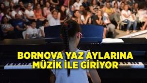 Bornova yaz aylarına müzik ile girecek