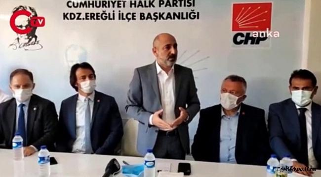 CHP'li Ali Öztunç'tan Erdoğan'a: Nankör arıyorsan aynaya bak