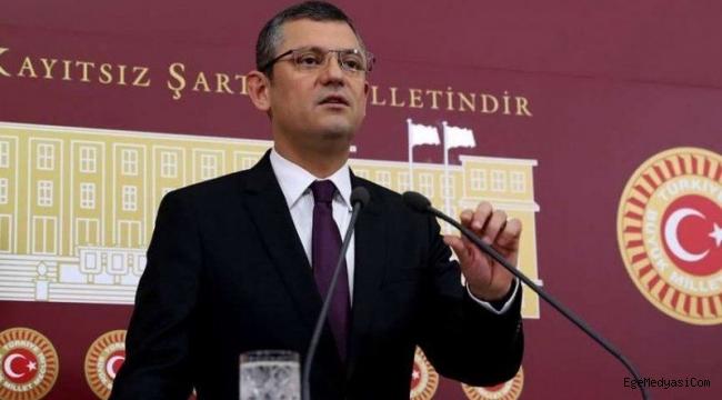 CHP'li Özel: Süleyman Soylu hakkında soruşturma komisyonu kurulsun