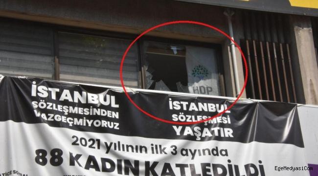 HDP İzmir binasına saldırı! 1 ölü, 1 gözaltı var