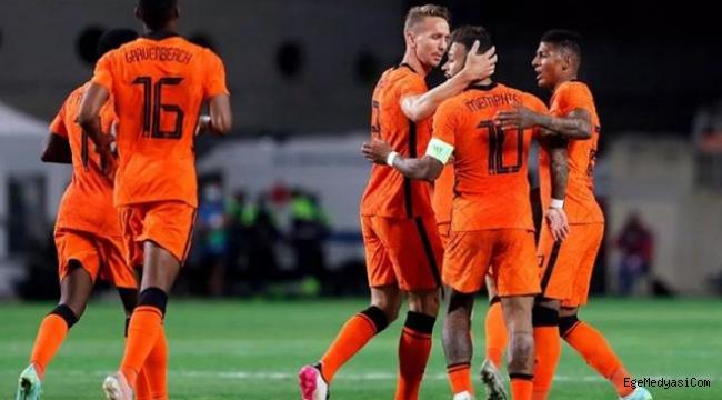 Hollanda, Ukrayna'yı 3-2 mağlup etti