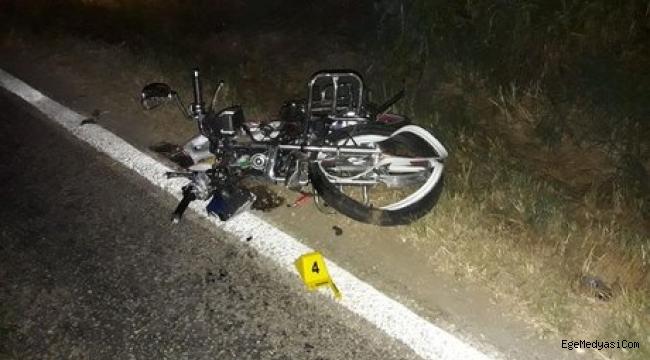 İzmir'de motosiklet çarpışmasında 1 ölü