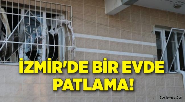 İzmir'de şüpheli patlama