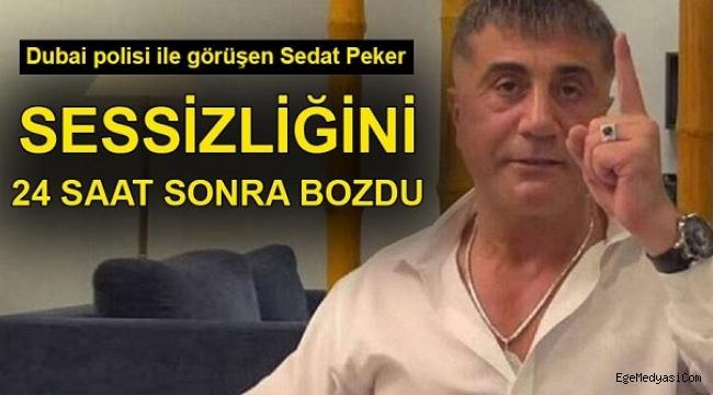 Sedat Peker saatler sonra nerede olduğunu ve durumunu açıkladı!