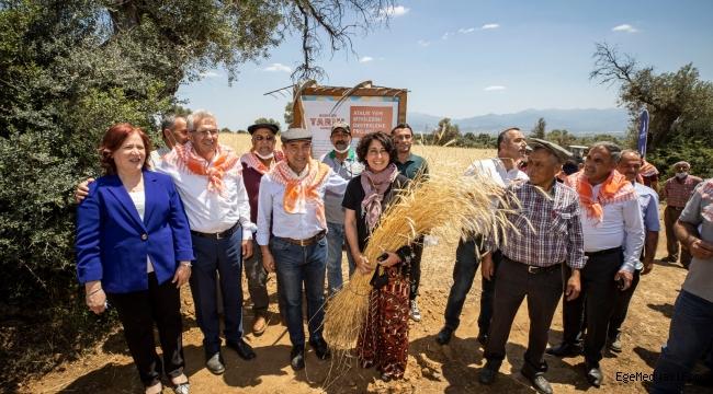 Tunç Soyer: Atalık tohumlar toprakla buluşuyor