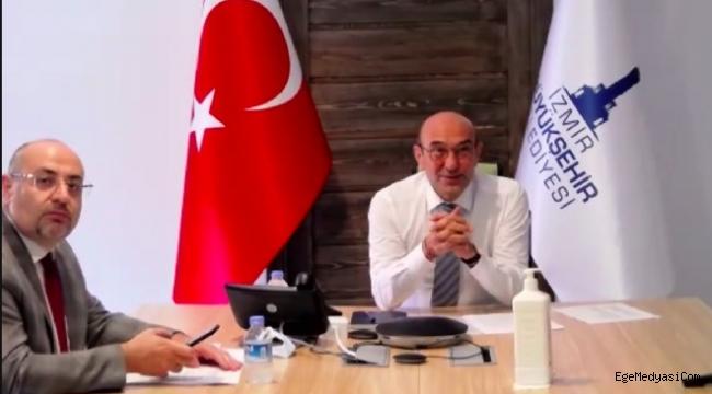 Tunç Soyer'den İzmir'e 'direk uçuş' için çağrı