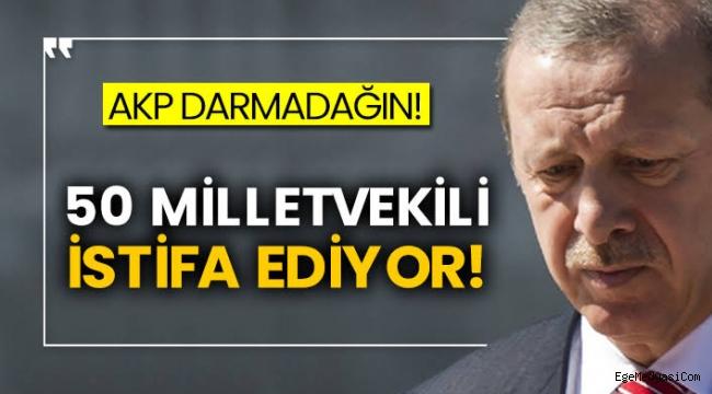 AKP'de 50 milletvekili istifa ediyor!
