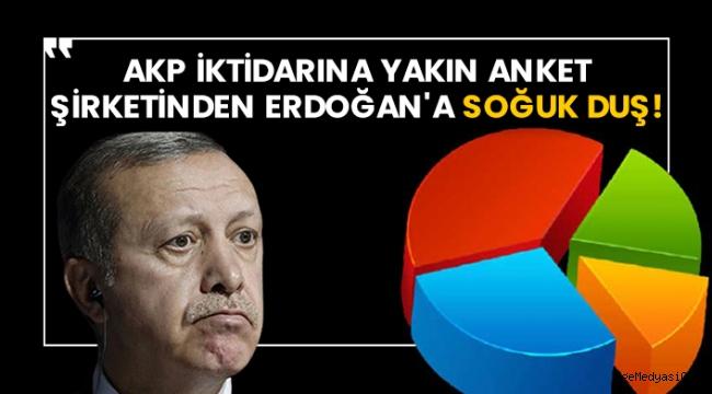 AKP'ye yakın anket şirketinden Erdoğan'a soğuk duş!
