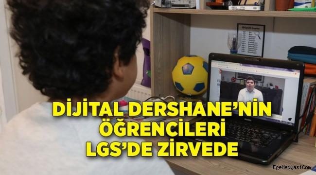Buca'da Dijital Dershane'nin öğrencileri LGS'de zirvede