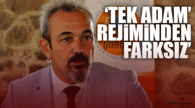 İzmir Baro Başkanı Yücel'den Türkiye Barolar Birliği'ne tepki