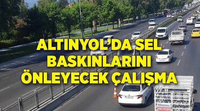 İzmir'de sel baskınlarını önleyecek çalışma