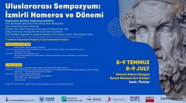 İzmir'de Uluslararası Homeros Sempozyumu
