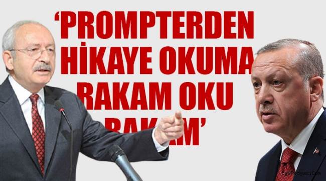 Kılıçdaroğlu'ndan Erdoğan'a:'Cesaretin varsa, getir sandığı, al gençlerden cevabını'
