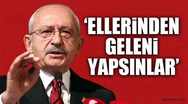 Kılıçdaroğlu'ndan 'fezleke' yanıtı