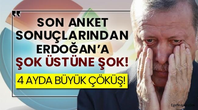 Son anketlerde Erdoğan'a şok üstüne şok!