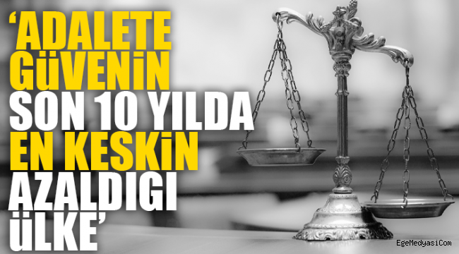 Türkiye, adalet ve eğitimde sınıfta kaldı
