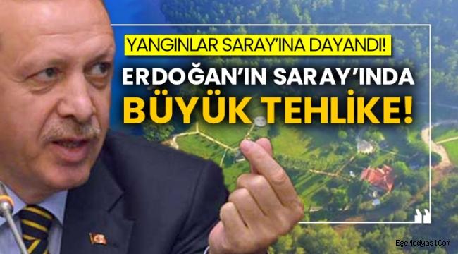 Erdoğan'ın Saray'ında büyük tehlike