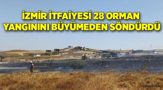 İzmir İtfaiyesinin başarısı