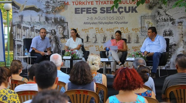 Selçuk'ta tiyatro buluşması