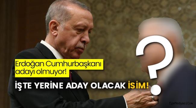 Erdoğan Cumhurbaşkanı adayı olmuyor