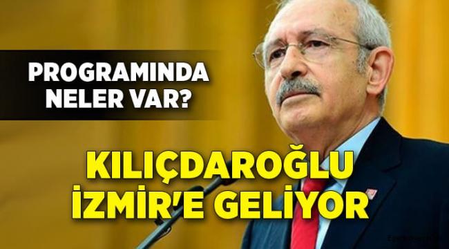 Kılıçdaroğlu o zirve için İzmir'e geliyor