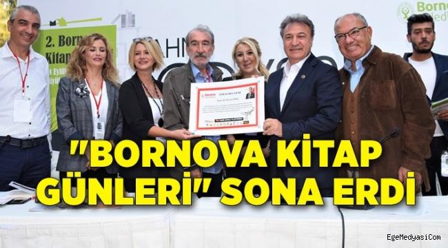 """""""Bornova Kitap Günleri"""" sona erdi"""