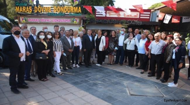 CHP Bornova'dan dayanışma buluşması